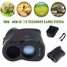 900M 6X 7X Telescope Laser Range Finder Hunting Golf Distance Height Speed Meter