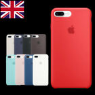 Genuine Official Soft Silicone Case Cover for Apple iPhone 7/7 Plus/6/6S X Boxed