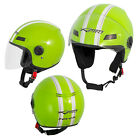 Motorcycle Quad Open Face Jet Helmet Apparel Scooter A-pro