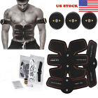Ultimate EMS AB & Arms Muscle Simulator ABS Training Gear Home Workout Exercise