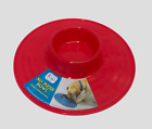 No Mess, Plastic Dog/Bowl - Strong & Durable, For Messy Eaters, Keep Floor clean
