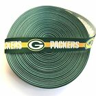 """7/8"""" Green Bay Packers Yellow Stripe Grosgrain Ribbon by the Yard (USA SELLER!) $4.95 USD on eBay"""