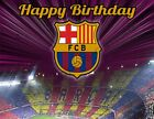 FC Barcelona Personalized Edible Print Premium Cake Topper Frosting Sheet 5 Size
