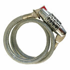 """4-Digit Bicycle Bike Combination Cable Lock Anti-Theft Security 24"""" Long 4 color"""