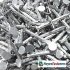 Galvanised Jagged Nails - Choice of Length.  30mm - 40mm. FREE UK STD DELIVERY.