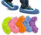 House Floor Foot Sock Shoe Mop Slipper Lazy Quick Polishing Cleaning Dust FO