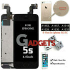 OEM iPhone 6s 6s Plus 6 5 7 8 SE LCD Digitizer Complete Screen Replacemen Button