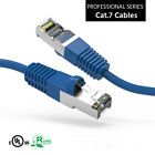 1'-40 FT CAT'7 STP Shielded Patch Cable 600MHz 10Gbps Ethernet RJ45 Network v2