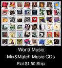 World Music(1) - Mix&Match Music CDs U Pick *NO CASE DISC ONLY*