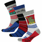 NEW 2 & 3 & 6 Pack Men's KEITH HARING SOCKS Happy Sock size 10-13 ,Shoe size6-12