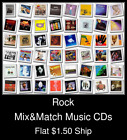 Rock(2) - Mix&Match Music CDs U Pick *NO CASE DISC ONLY*