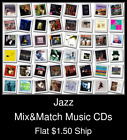Jazz(3) - Mix&Match Music CDs U Pick *NO CASE DISC ONLY*