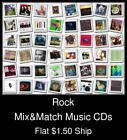 Rock(7) - Mix&Match Music CDs U Pick *NO CASE DISC ONLY*