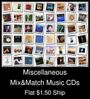 Miscellaneous(9) - Mix&Match Music CDs U Pick *NO CASE DISC ONLY*