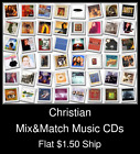 Christian(9) - Mix&Match Music CDs U Pick *NO CASE DISC ONLY*
