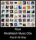 Rock(13) - Mix&Match Music CDs U Pick *NO CASE DISC ONLY*