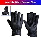 Leather Summer Motorcycle Motorbike Glove Water Resistant Thermal Glove New