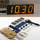 DIY Digital Clock Kit Light Control Industrial Control 1 Inch LED Electronic Kit