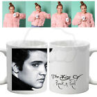 Personalised Elvis Presley Singer Tea Coffee Mug Cup Your Name Text Ideal Gift