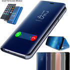 Case for Samsung Galaxy S9plus S8 Plus / S9 View Mirror Leather Flip Stand Cover