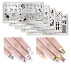 NICOLE DIARY Nail Image Stamping Templates Animal  Bee Print Templates