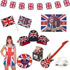 British Royal Wedding Harry & Meghan Union Jack Partyware Decoration & Souvenirs