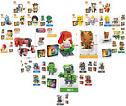 Внешний вид - 38 Styles LOZ Mini Blocks BRICK HEADZ Disney Dumbo Groot Iron Man Toys With Box