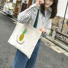 stylish canvas tote bags - Large Capacity Tote Bag Grocery Shopping Bag Stylish Handbags for Girls Students