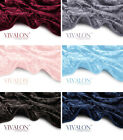 VIVALON Silky Soft Heavy Duty Quality reversible Korean Mink Embossed Blanket image