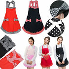 Cute Bowknot Aprons Lady's Kitchen Cooking Restaurant Women's Gift