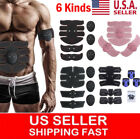 Electric ABS Simulator EMS Training Body Abdominal Muscle Exerciser Fat-Burner image