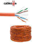 Cat5e Cat6 Cable Bulk UTP Wire RJ45 Lan Network Ethernet Solid 23 24AWG 1000FT