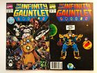 THE INFINITY GAUNTLET 1 & 4 High Grade- Long Awaited Avengers Infinity Wars Soon