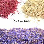 Dried Cornflower Petals & Flowers For Crafts Confetti Home Decor Free Uk P&p
