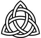 Celtic Knot vinyl decal - For Cars, Laptops, Sticker, Mirrors, etc.