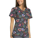 Star Wars ~ NWT ~ Women's Star Wars Mock Wrap Nurse Scrub Shirt ~ 2X, 3X $30.47 CAD
