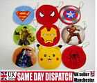 KIDS CHILDREN BOYS WALLET COIN PURSE  GIFTS SUPERHERO MARVEL DC AVENGERS BATMAN