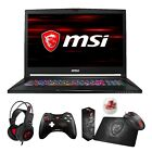 "MSI GS73 STEALTH 17.3"" 120Hz (3ms) Core i7-8750H GTX 1070 1060 Gaming Laptop"