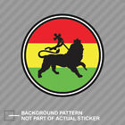 Rasta Lion of Judah with Border Sticker Decal Vinyl tribe of jewish reggae
