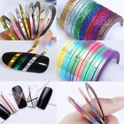Nail Art Striping Tape Line Adhesive Sticker Decals Decoration 1mm 2mm 3mm Tool
