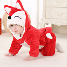 Baby Boy Girl Super cute Siamese fox pajamas