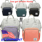Внешний вид - Diaper Mummy Bag Multi-Function Waterproof Travel Backpack Nappy Bags Baby US