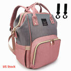 Mummy Maternity Nappy Diaper Bag Large Capacity Baby Bag Travel Backpack