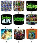 Goosebumps Children`s Lampshades, Ideal To Match Goosebumps Quilts & Bedspreads.