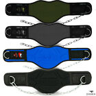 "Weight Lifting Dip Dipping Belt Body Building 8"" Chain Exercise Gym Training"