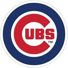 "Chicago Cubs MLB Color Die Cut Vinyl Decal - You Choose Size 3""-28"" on Ebay"