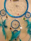 Small 16cm Native American Indien Dream catcher Silver Red Purple Turquoise Pink