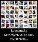Soundtracks(2) - Mix&Match Music CDs U Pick *NO CASE DISC ONLY*