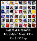 Dance & Electronic(4) - Mix&Match Music CDs U Pick *NO CASE DISC ONLY*