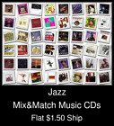 Jazz(6) - Mix&Match Music CDs U Pick *NO CASE DISC ONLY*